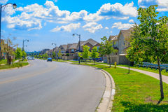 Luxury house  in the suburbs of Toronto Royalty Free Stock Photos
