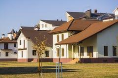 Luxury houses Stock Photo