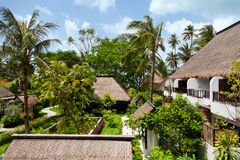 Luxury houses in Ko Samui Royalty Free Stock Photo