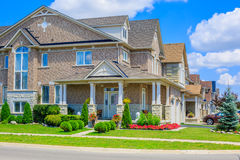 Luxury houses in North America Royalty Free Stock Photo