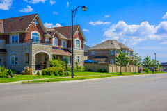 Luxury houses in North America Stock Images
