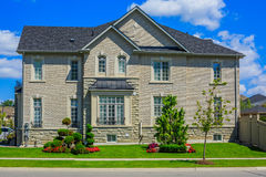 Luxury houses in North America Stock Photography