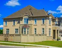 Luxury houses in North America Stock Photo
