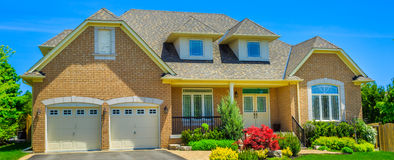 Luxury houses in North America Royalty Free Stock Photography