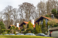 Luxury Houses Royalty Free Stock Photo