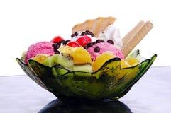Luxury ice cream dessert Stock Photography