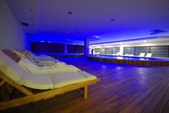 Luxury indoor pool Royalty Free Stock Photography