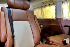 Luxury inside of business vehicle Stock Photography