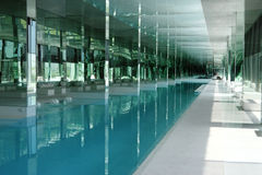Luxury inside pool Stock Images