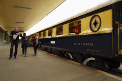 Luxury Inter City Train,  Luxury Train Trip Stock Images