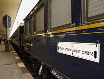 Luxury Inter City Train, Venice - Prague Stock Photo