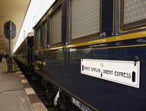 Luxury Inter City Train, Venice - Prague Stock Photo