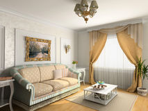 Luxury  interior Royalty Free Stock Photo