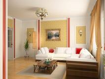 Luxury interior royalty free illustration