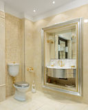 Luxury interior. Bathroom Royalty Free Stock Images