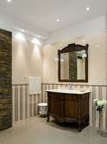 Luxury interior. Bathroom Royalty Free Stock Image