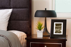 Luxury interior bedroom Royalty Free Stock Photos