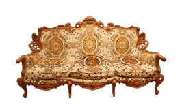 Luxury Interior. Carved Furniture. Royalty Free Stock Image
