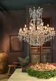 Luxury interior in country style Royalty Free Stock Photo