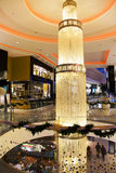 Luxury interior  modern shopping center Morocco Mall Stock Image