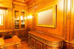 Luxury interior of parlor Royalty Free Stock Image