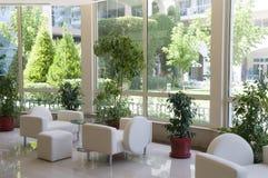 Luxury Interior With Big Window Stock Images