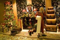 Luxury interiors christmas stock photos