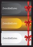 Luxury invitation cards Royalty Free Stock Image
