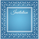 Luxury invitation template Stock Photography