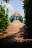 Luxury island resort royalty free stock photos
