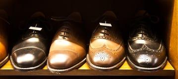 Luxury Italian shoes Stock Photo