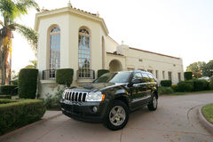 Luxury jeep royalty free stock photography