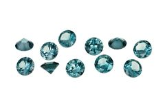 Luxury jewelry gems Stock Photography