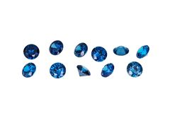 Luxury jewelry gems Royalty Free Stock Images