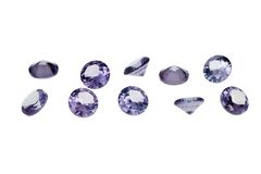 Luxury jewelry gems Royalty Free Stock Image