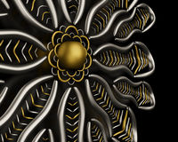 Luxury jewelry ornament background. Design Royalty Free Stock Photography