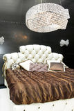 Luxury king bed Royalty Free Stock Image