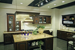 Luxury kitchen Stock Images