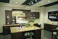 Luxury kitchen Stock Images