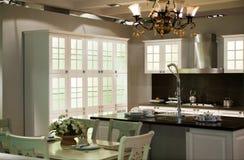 Luxury kitchen Stock Photography