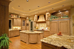 Luxury Kitchen Royalty Free Stock Photo