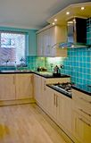 Luxury Kitchen. In UK home royalty free stock photo