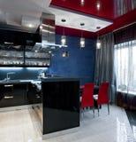 Luxury kitchen interior Royalty Free Stock Photography