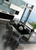 Luxury kitchen interior with modern furniture. Image of Luxury kitchen interior with modern furniture Royalty Free Stock Photo