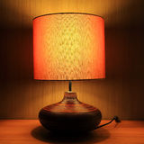 Luxury lamp on table Royalty Free Stock Images