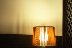 Luxury lamp on table Royalty Free Stock Image