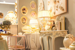 Luxury lamps Stock Images