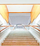 Luxury large staircase. Front view Stock Images