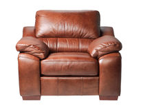 Luxury leather armchair Royalty Free Stock Image
