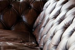 Luxury leather Royalty Free Stock Photography